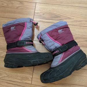 Sorel - girls winter boots